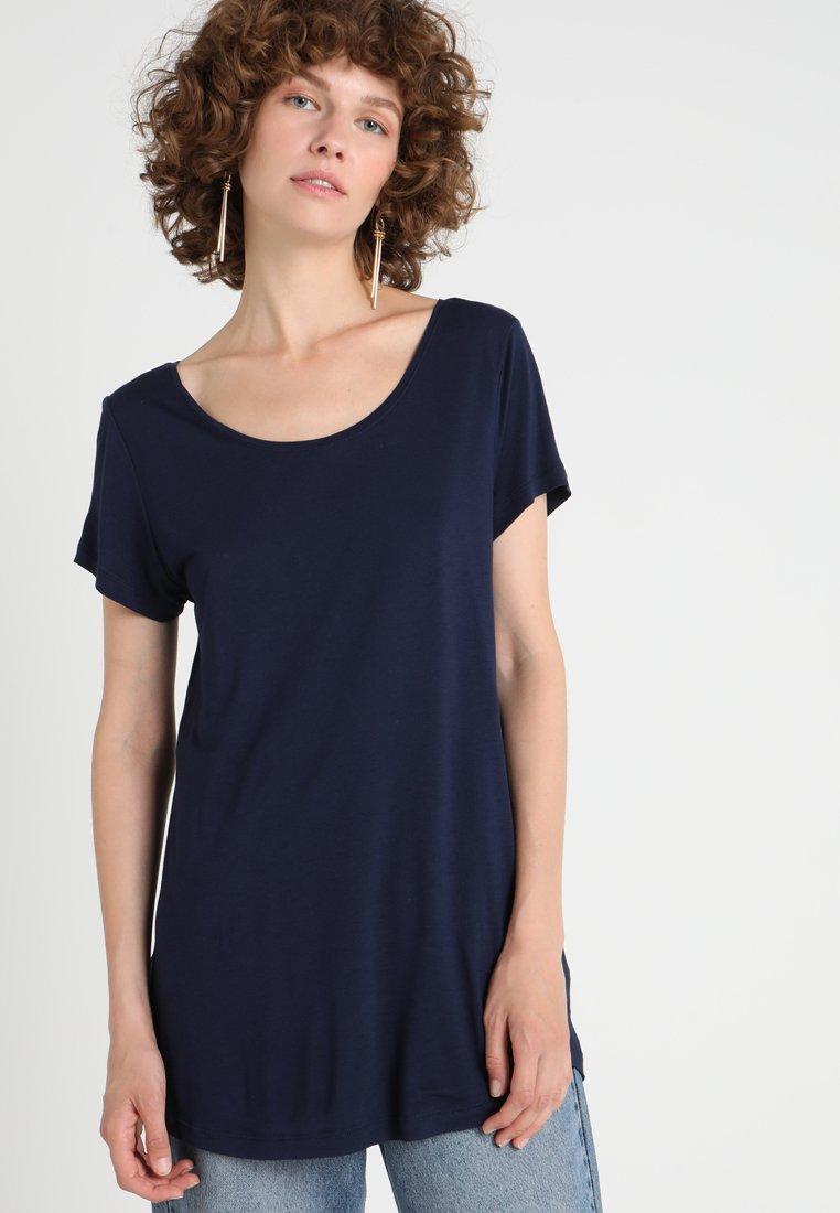 GAP - LUXE - T-shirt basic - navy