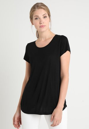 LUXE - T-shirts - true black