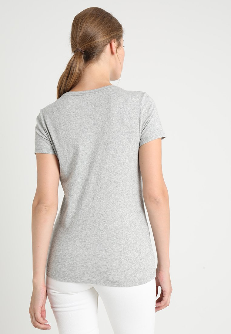 GAP TEE - T-shirt imprimé grey heather