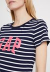 GAP - TEE - T-Shirt print - navy stripe