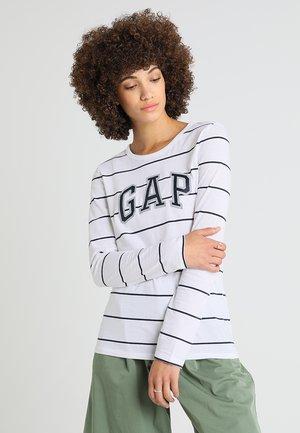 LOGO  - Langarmshirt - navy stripe