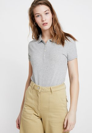 Poloshirt - light heather grey