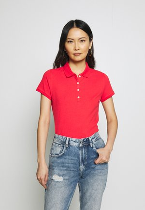 Polo shirt - red tulip