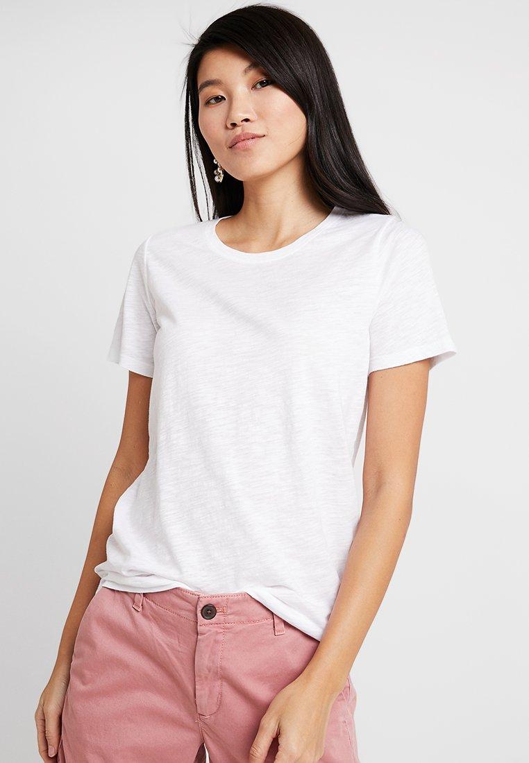 GAP - SLUB SLIM  - T-Shirt basic - white