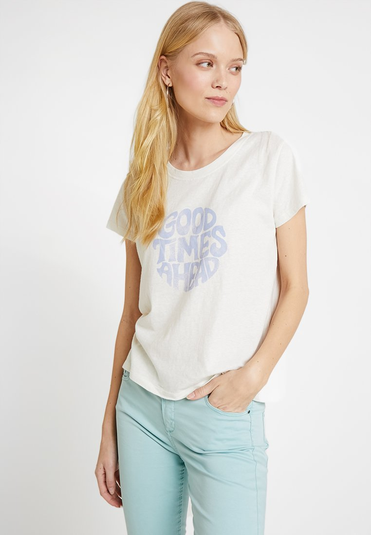 GAP - TEE  - T-Shirt print - snow
