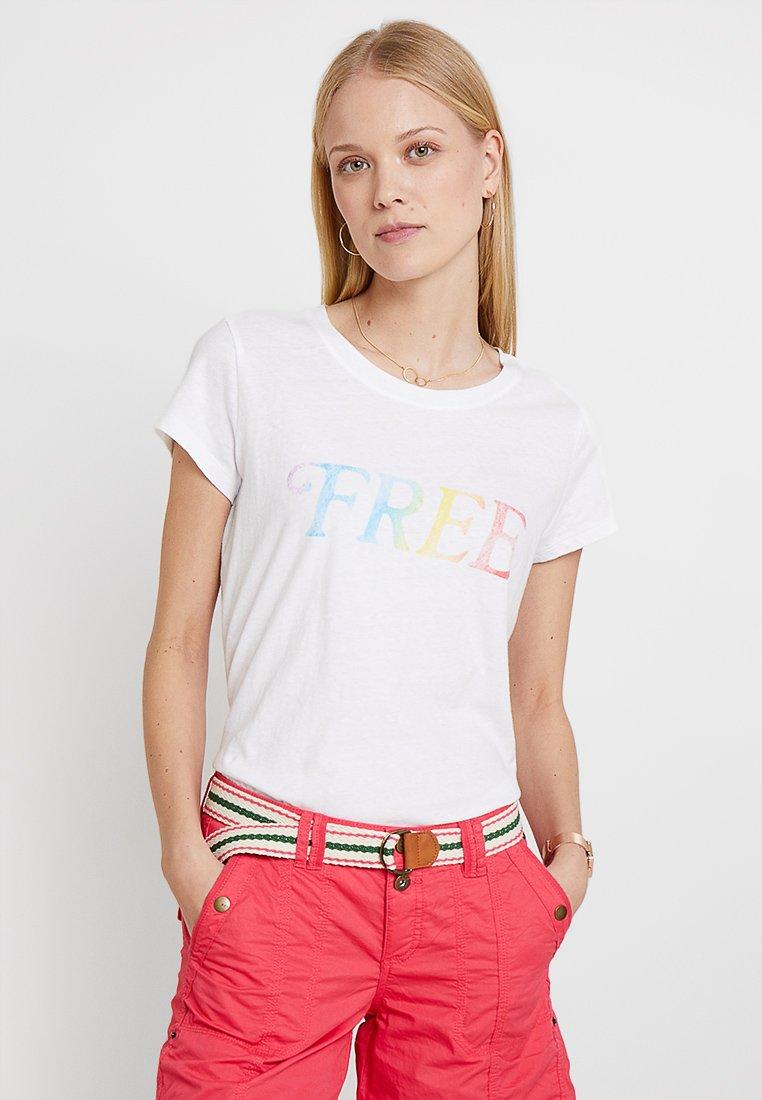 GAP - TEE  - T-Shirt print - white
