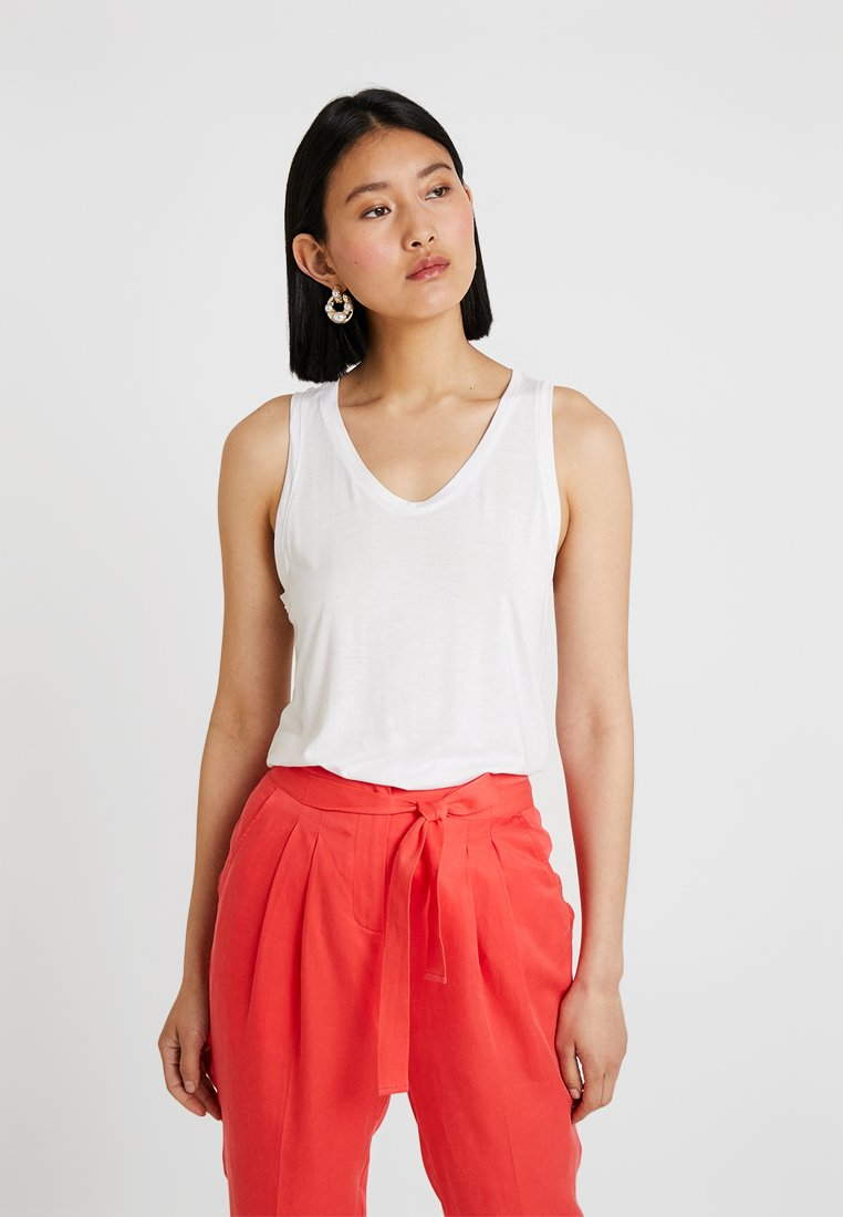 GAP - LUXE - Top - white