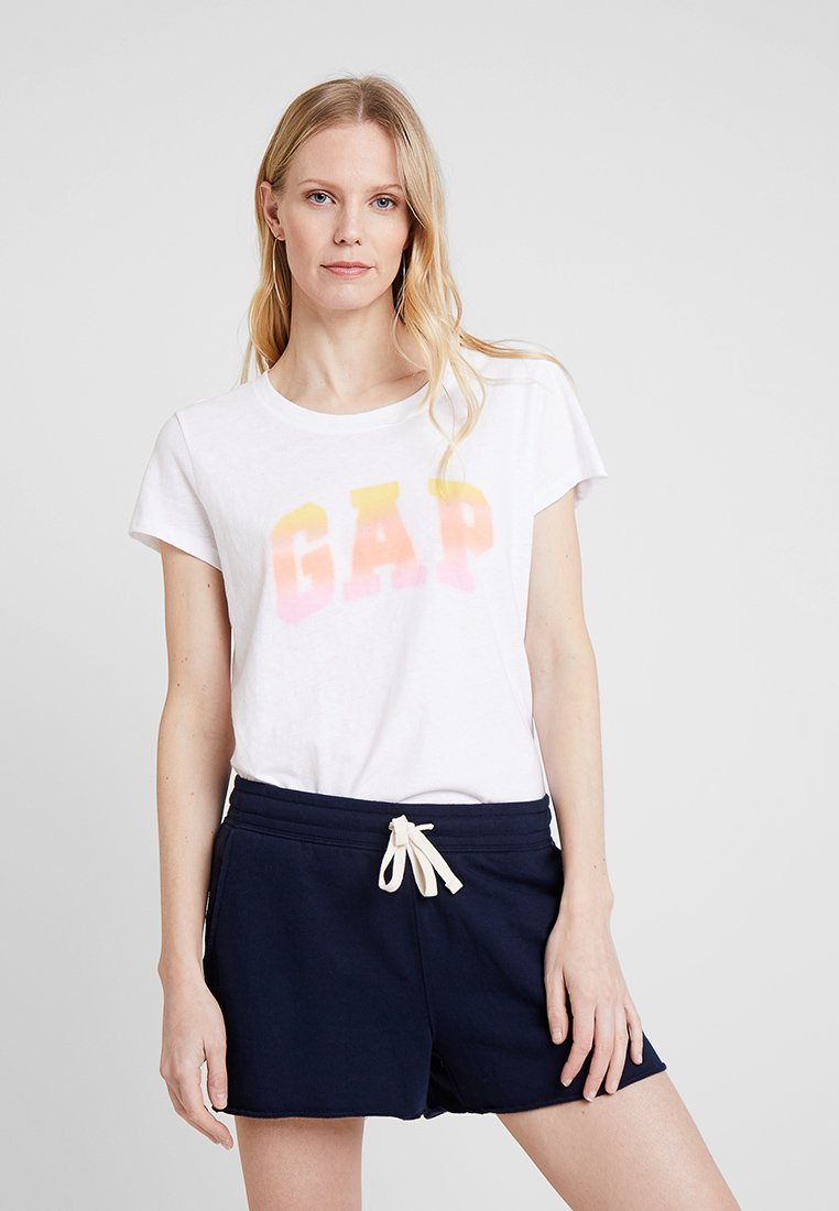 GAP - GRAD TEE - T-shirts print - optic white