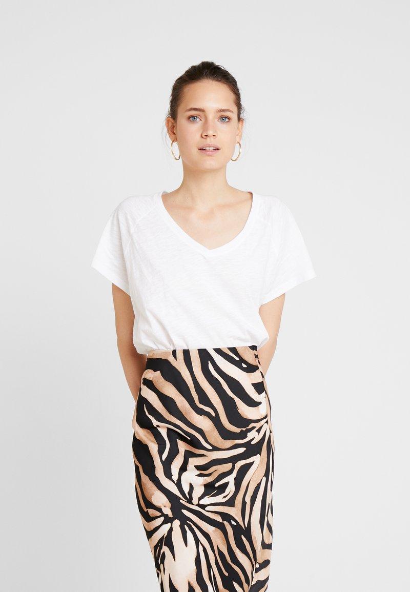GAP - SLUB - T-shirts basic - white