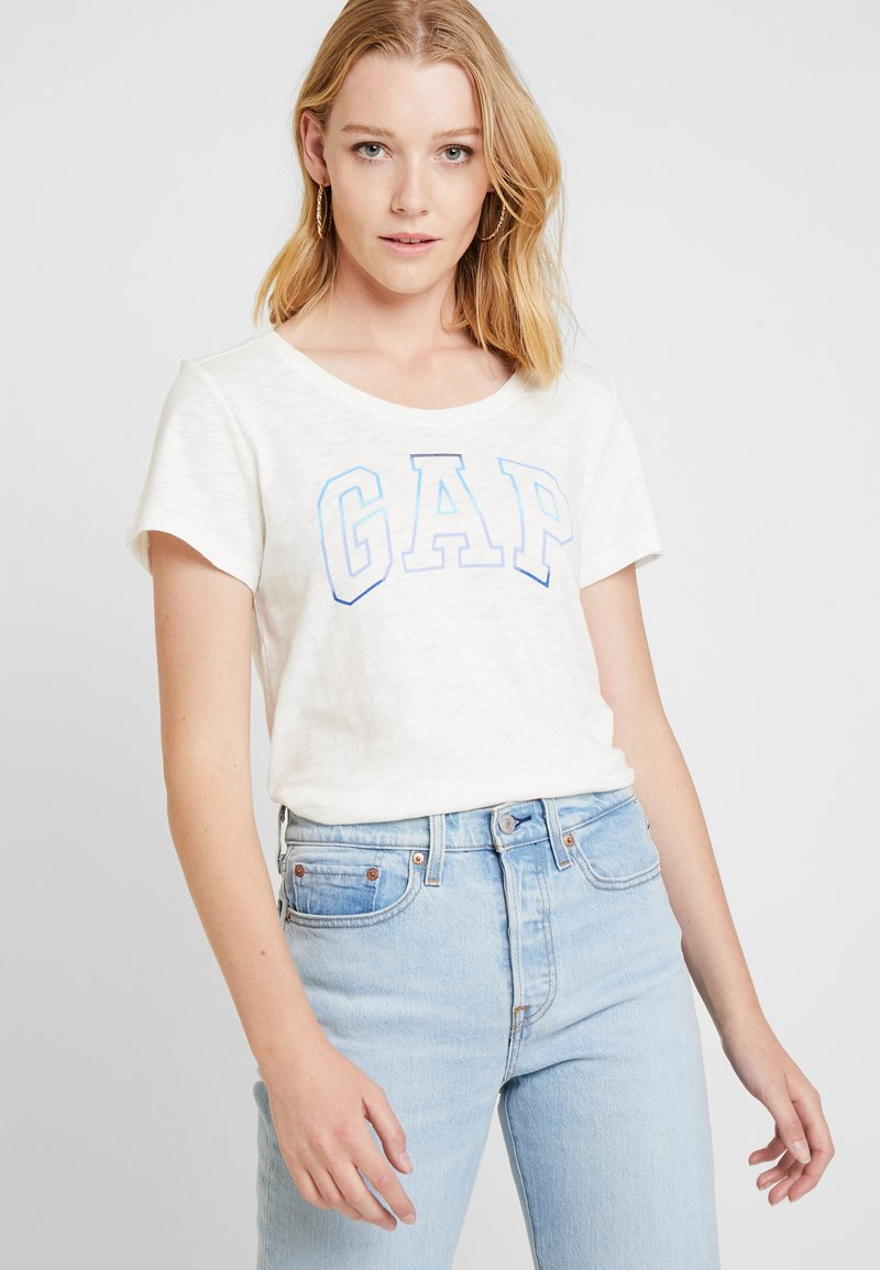 GAP - SHINE TEE - T-Shirt print - snowflake milk