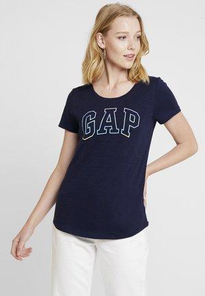 SHINE TEE - Print T-shirt - navy uniform