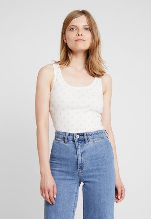 TANK - Top - ivory frost