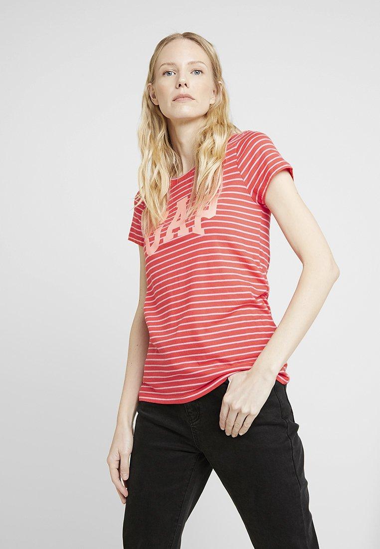 GAP - CREW - T-shirt print - red poppy