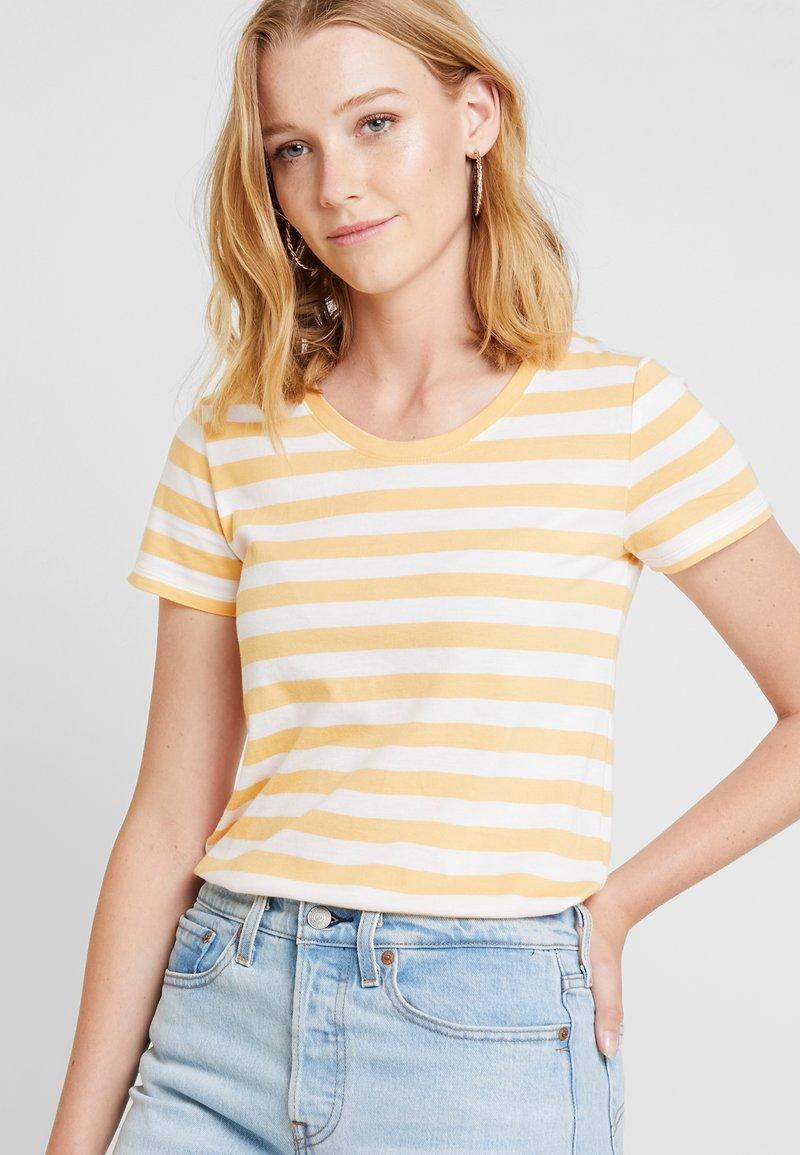 GAP - CREW - T-Shirt print - orange nectar