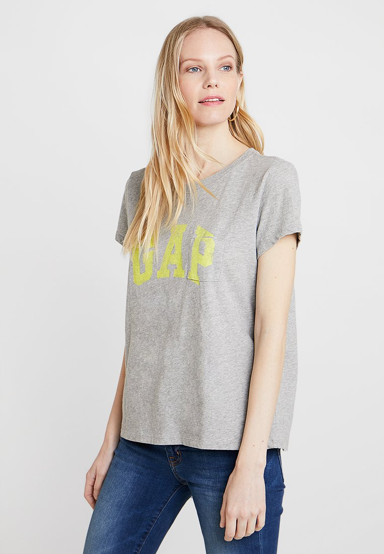 GAP - TEE - T-shirts print - light heather grey