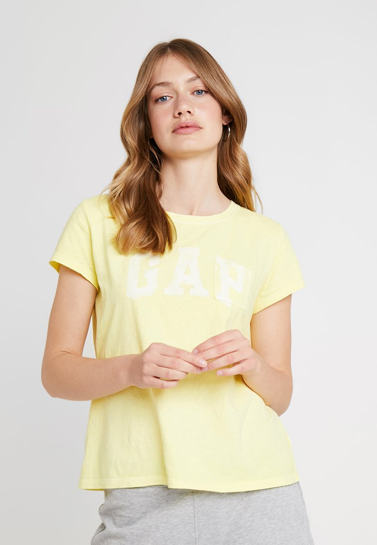 GAP - TEE - T-shirts print - fresh yellow
