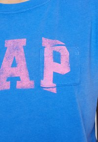 GAP - TEE - Print T-shirt - cabana blue - 5