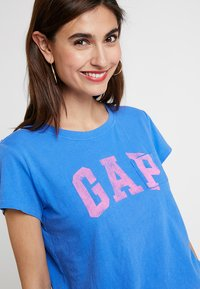 GAP - TEE - Print T-shirt - cabana blue - 3