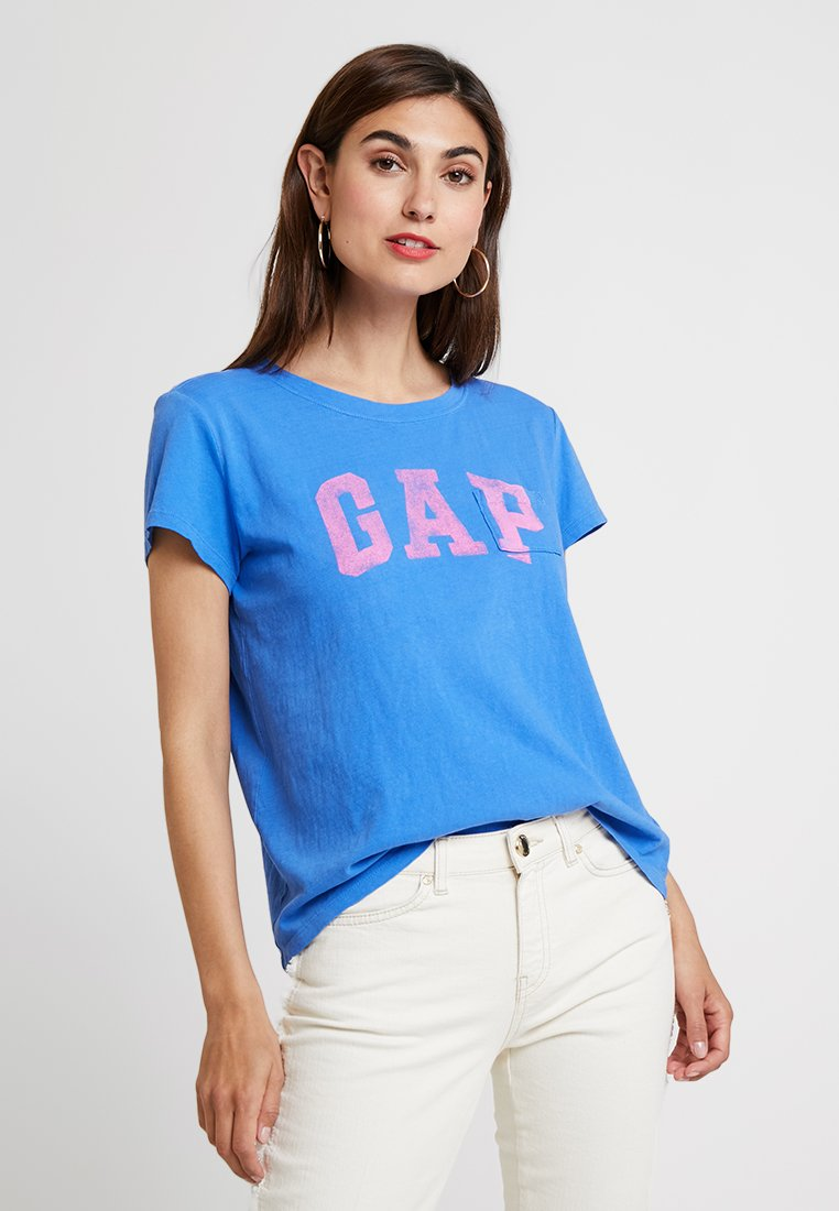 GAP - TEE - Print T-shirt - cabana blue