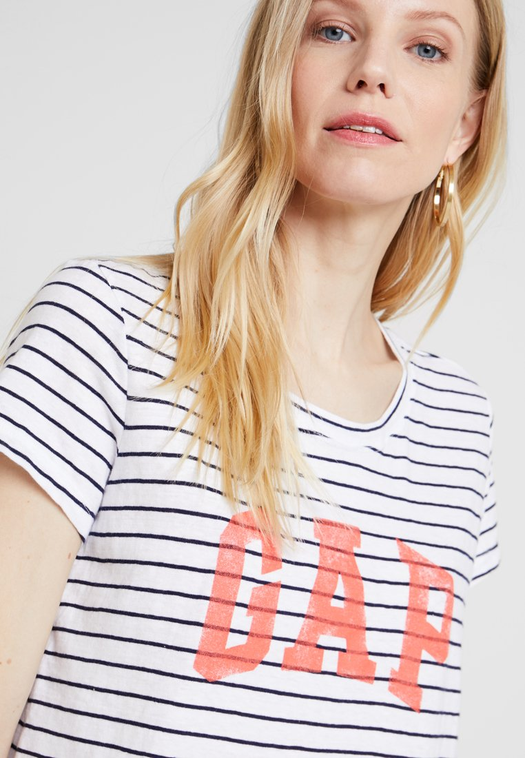 GAP TEE - T-shirt imprimé navy