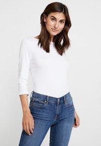 GAP - BALLET - Long sleeved top - optic white - 0