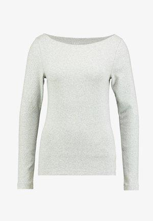 BOAT - Top sdlouhým rukávem - heather grey