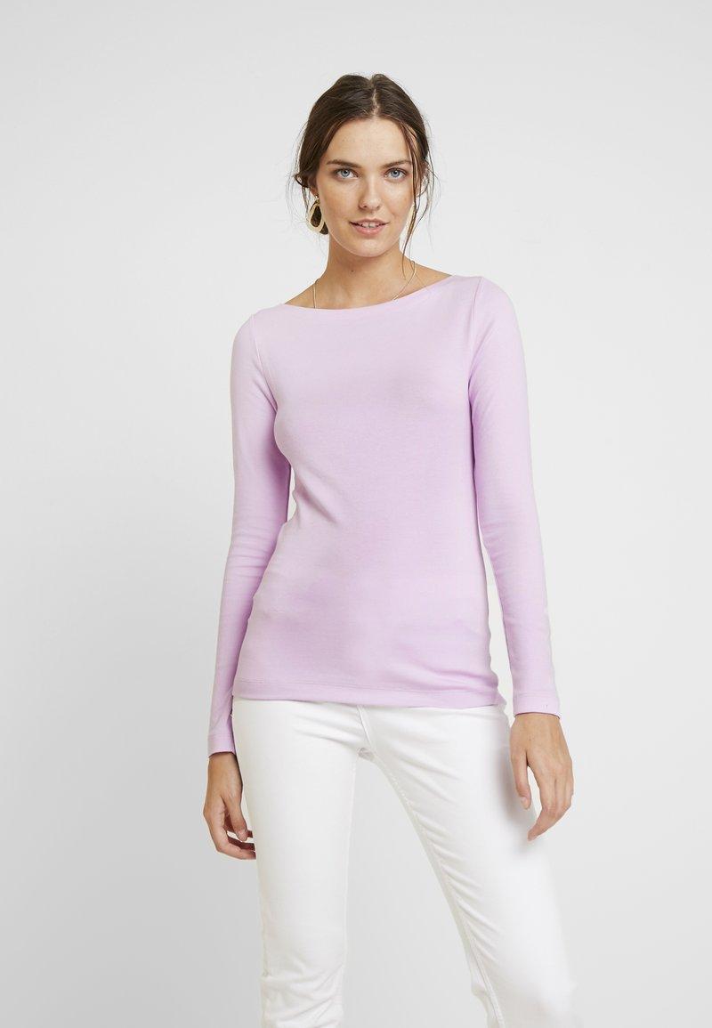 GAP - BOAT - Langarmshirt - lavender pink