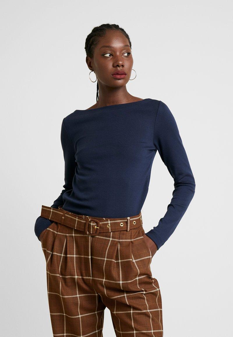GAP - BOAT - Bluzka z długim rękawem - true indigo