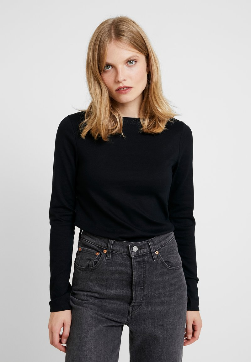 GAP - BOAT - Longsleeve - true black