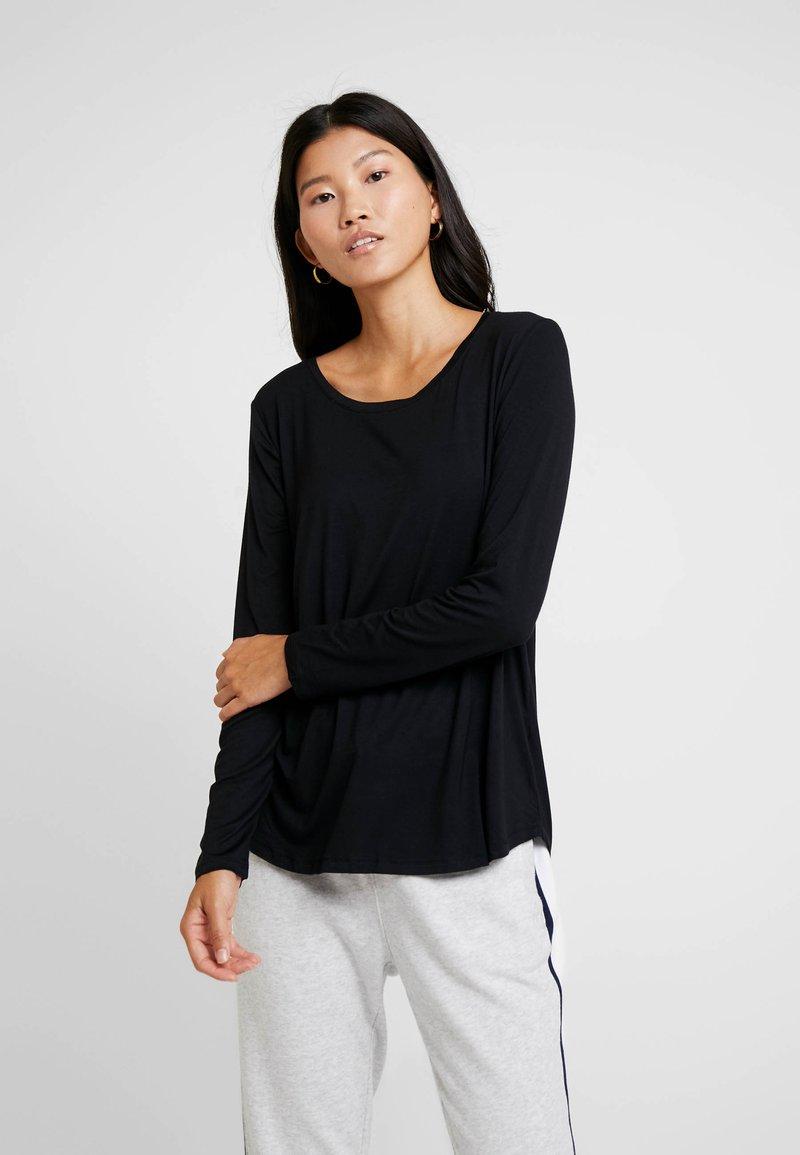 GAP - LUXE - Langarmshirt - true black