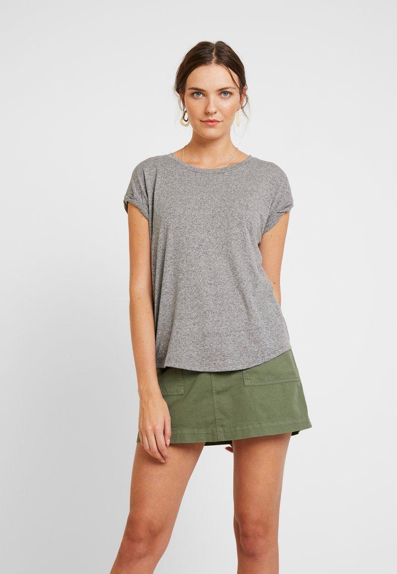GAP - TRIBLEND ROLL - T-shirts print - med heather grey