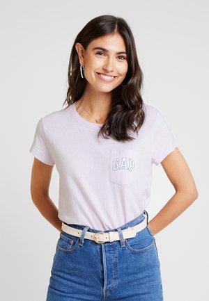 TEE - Print T-shirt - lavender fog