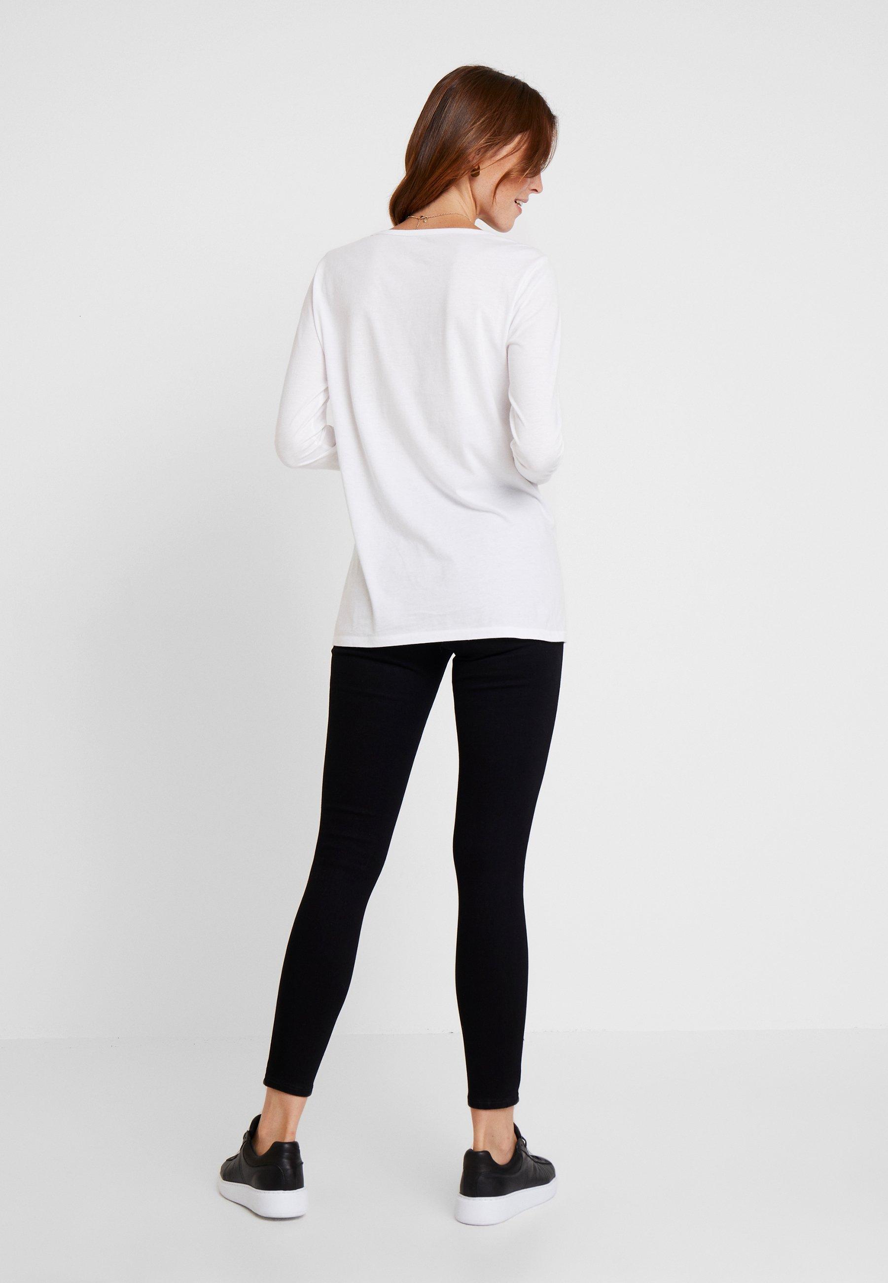 Longues TeeT Manches Arch Gap shirt White À OiwlZkuTPX