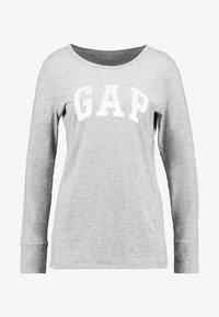 GAP - ARCH TEE - Top sdlouhým rukávem - light heather grey - 4