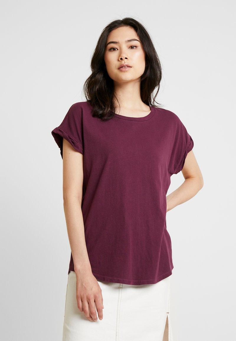 GAP - ROLL TEE - T-shirt basic - secret plum