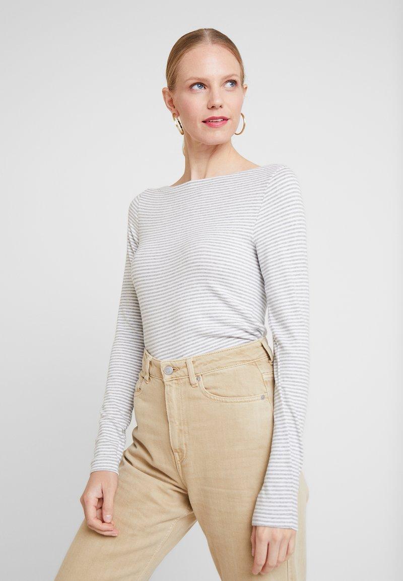 GAP - BOAT - Long sleeved top - grey