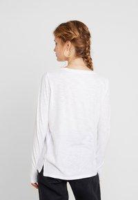 GAP - SLUB - Camiseta de manga larga - white - 2