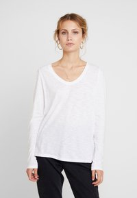 GAP - SLUB - Camiseta de manga larga - white - 0