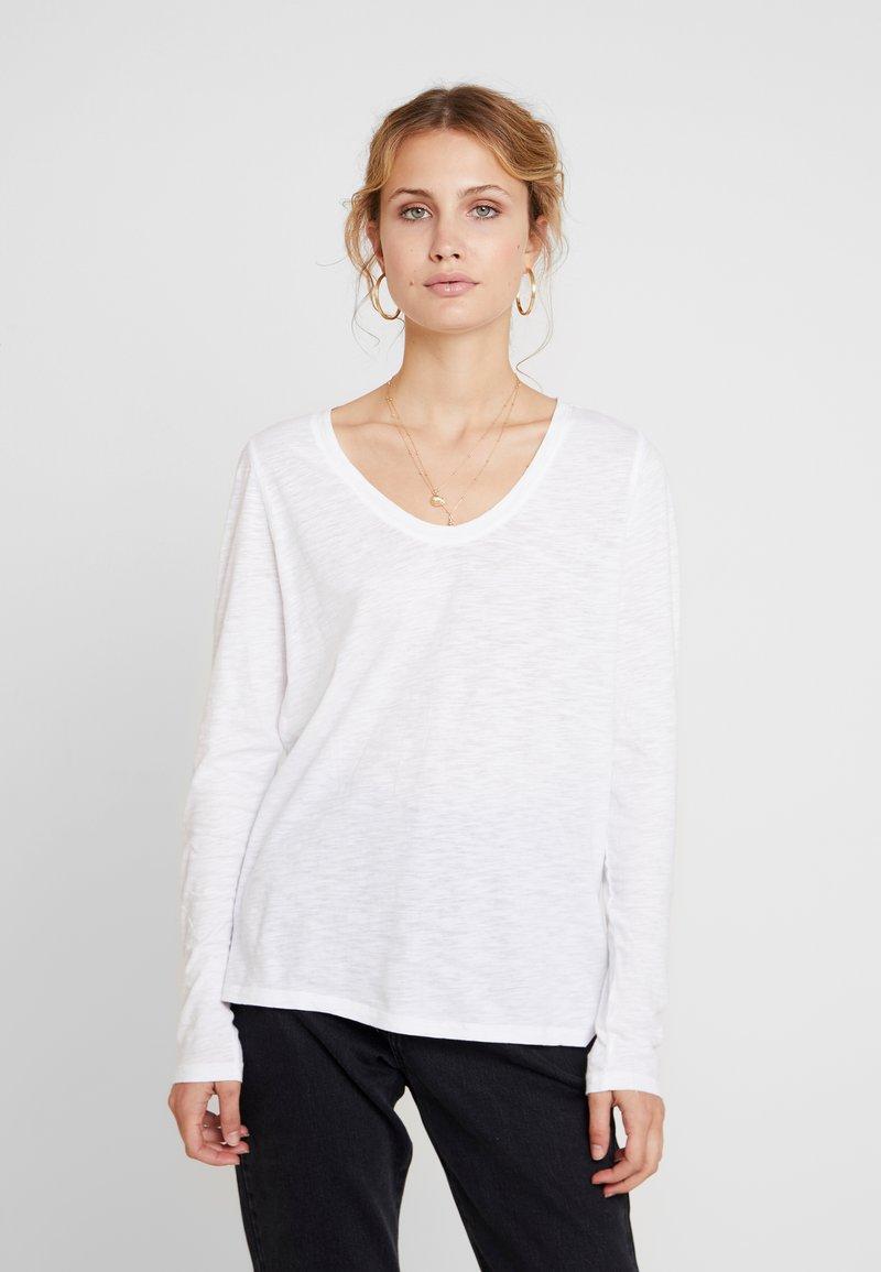 GAP - SLUB - Camiseta de manga larga - white
