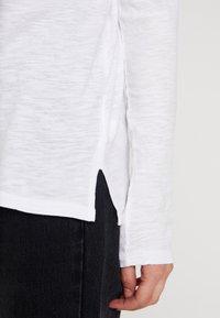 GAP - SLUB - Camiseta de manga larga - white - 5