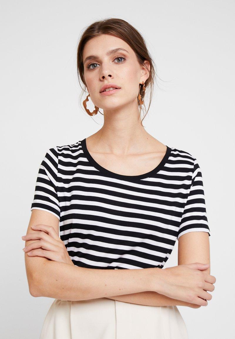GAP - LUXE - Print T-shirt - true black