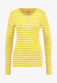 GAP - CREW - Top sdlouhým rukávem - lemon curry - 3