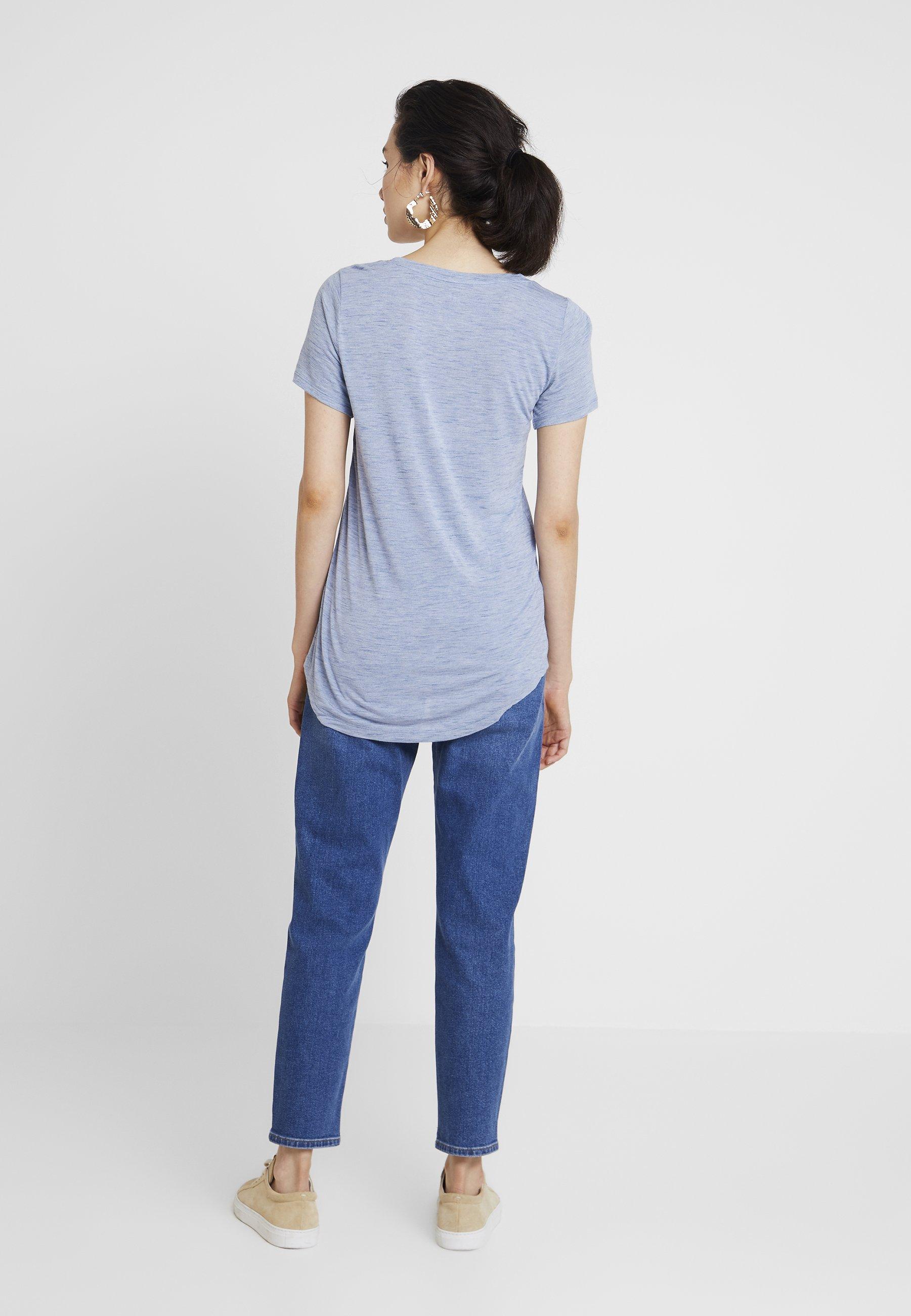 Gap Basique Blue LuxeT shirt Spacedye uPZwXOkTi