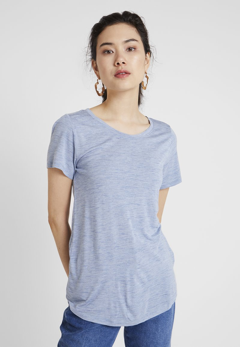 GAP - LUXE - T-shirt basic - blue spacedye