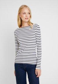 GAP - BOAT - T-shirt à manches longues - navy/white - 0