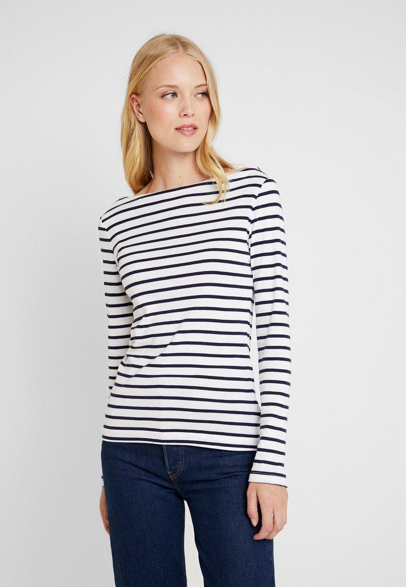GAP - BOAT - T-shirt à manches longues - navy/white