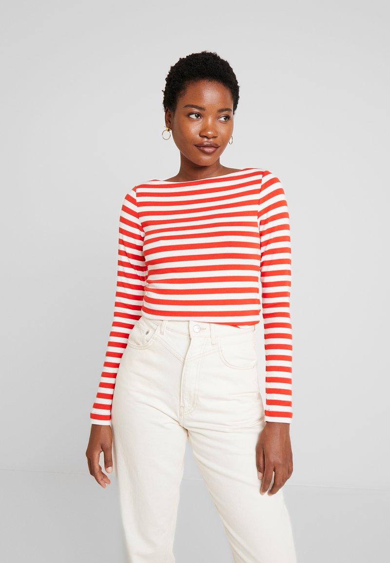 GAP - BOAT - Long sleeved top - red