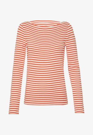BOAT - T-shirt à manches longues - orange combo