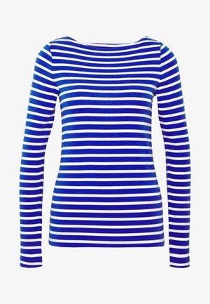 BOAT - T-shirt à manches longues - blue combo