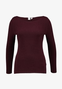 GAP - BOATNECK - Jumper - burgundy - 3